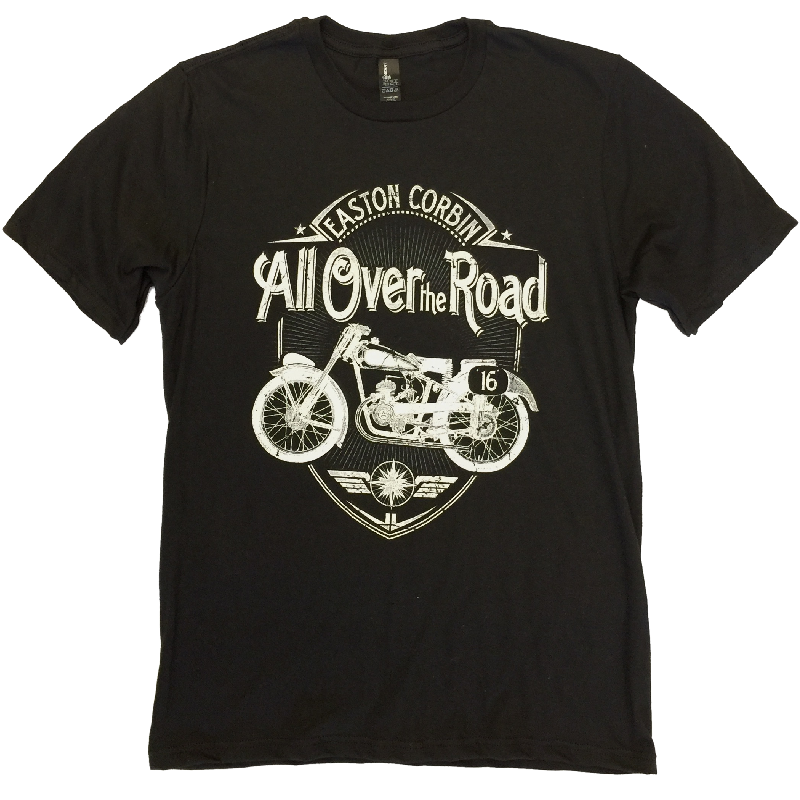 Easton Corbin All Over the Road Black Tee