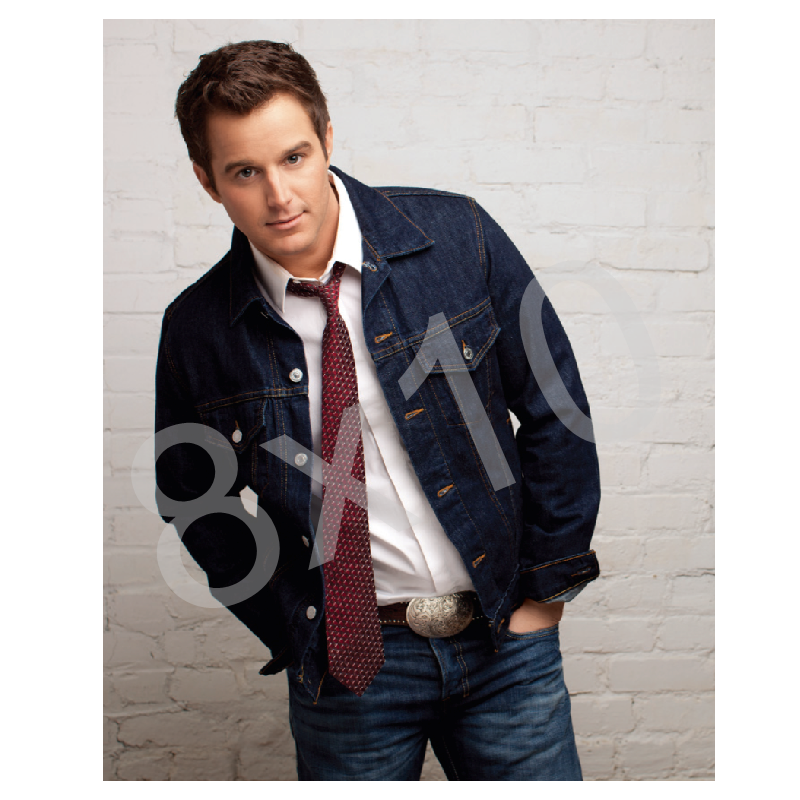 Easton Corbin  8x10- Denim Jacket