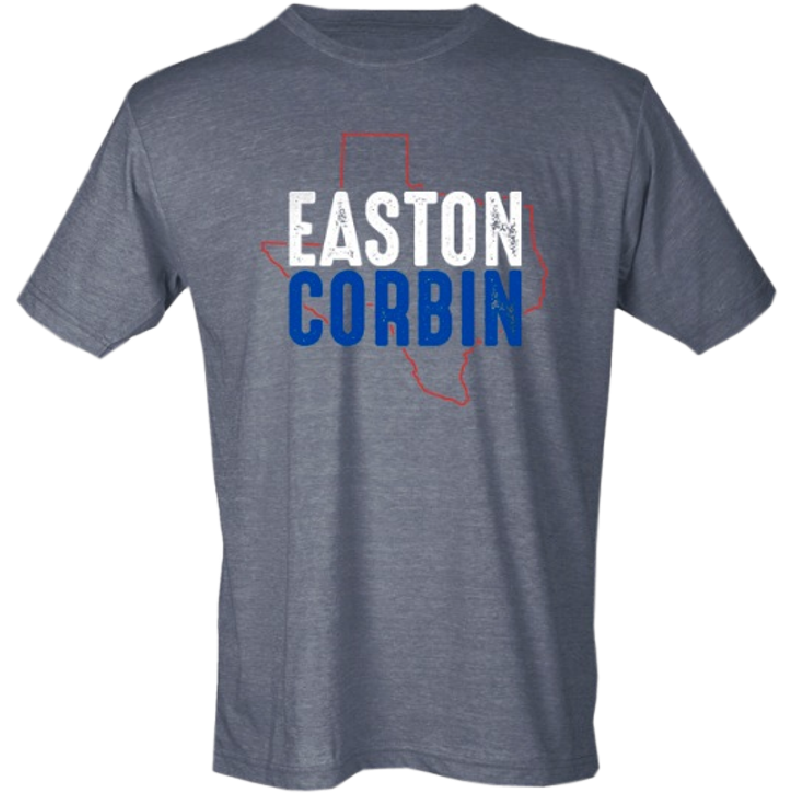 Easton Corbin Unisex Heather Charcoal Tee