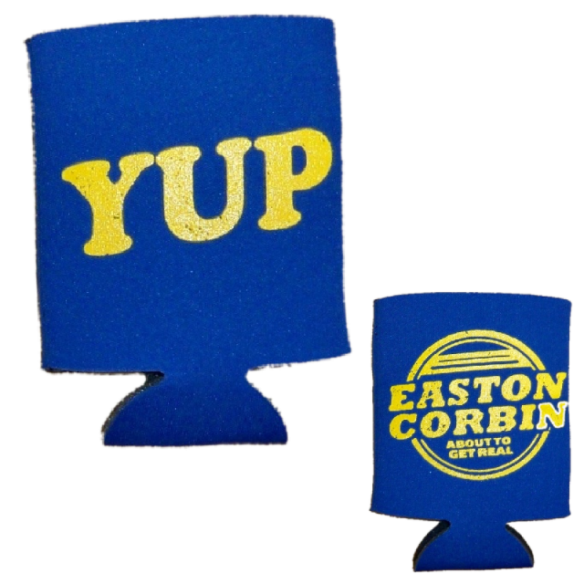 Easton Corbin Royal Blue Koozie