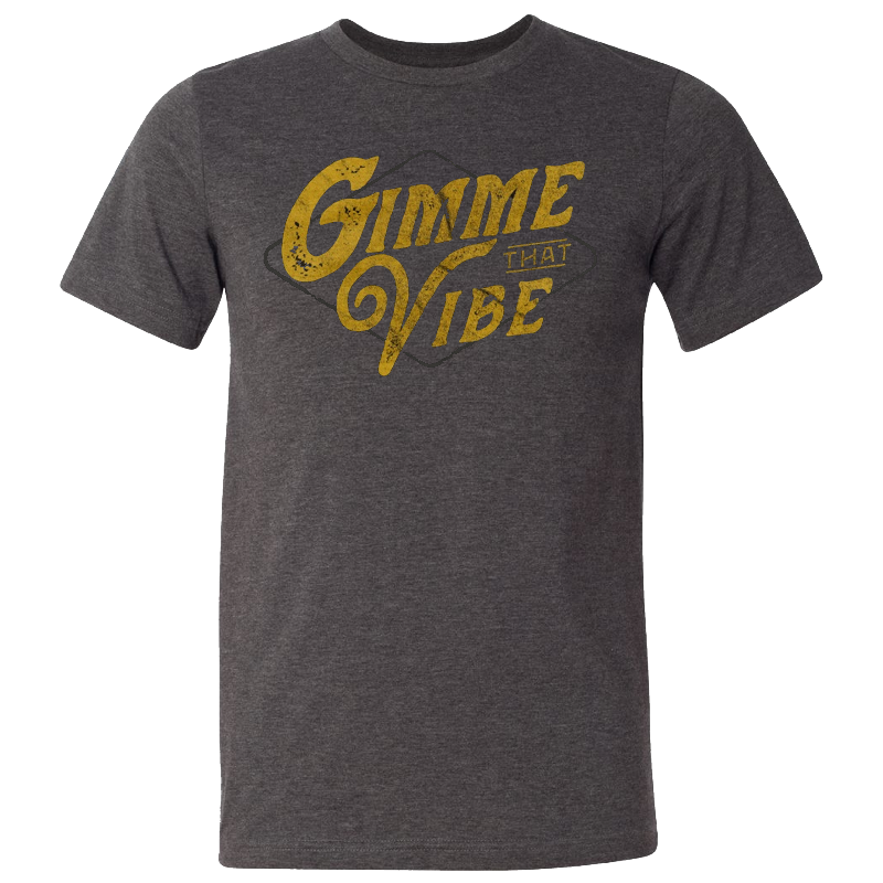 Easton Corbin Dark Heather Grey Gimme That Vibe Tee