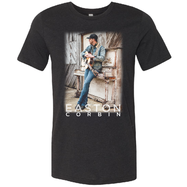 Easton Corbin Black Heather Photo Tee