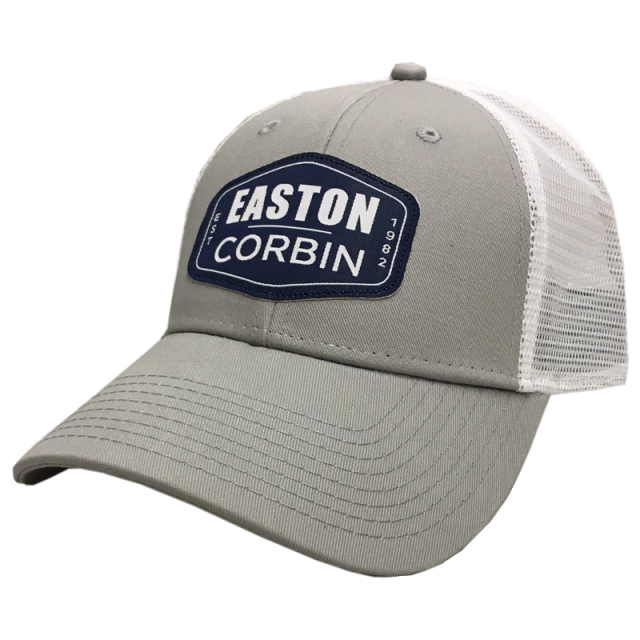 Easton Corbin Grey and White Ballcap
