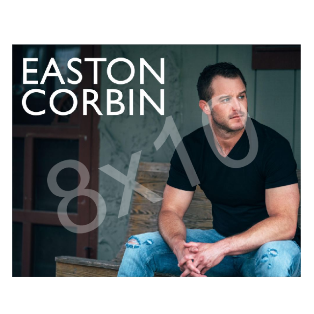 Easton Corbin 8x10- Black Shirt
